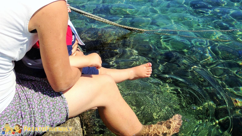 [cml_media_alt id='5430']Croazia con i bambini - L'acqua limpida e invitante[/cml_media_alt]