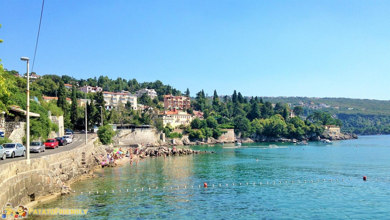 Croazia con i bambini - Volosko - Panorama