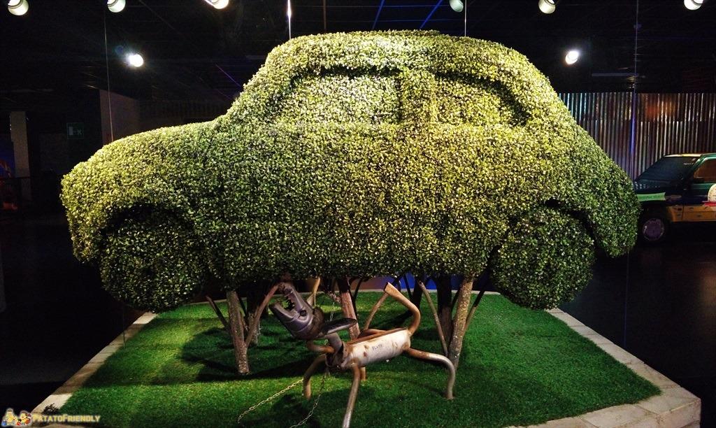 Il Mauto, il Museo dell'Automobile di Torino - La 500 e il sogno di un'auto veramente verde
