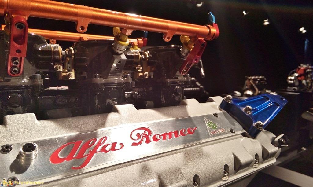 [cml_media_alt id='5469']Il Mauto, il Museo dell'Automobile di Torino - Particolare di un motore Alfa Romeo[/cml_media_alt]
