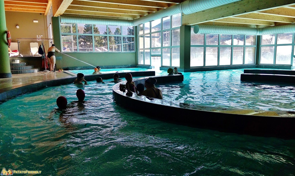 Le Terme di Bormio - La zona delle piscine