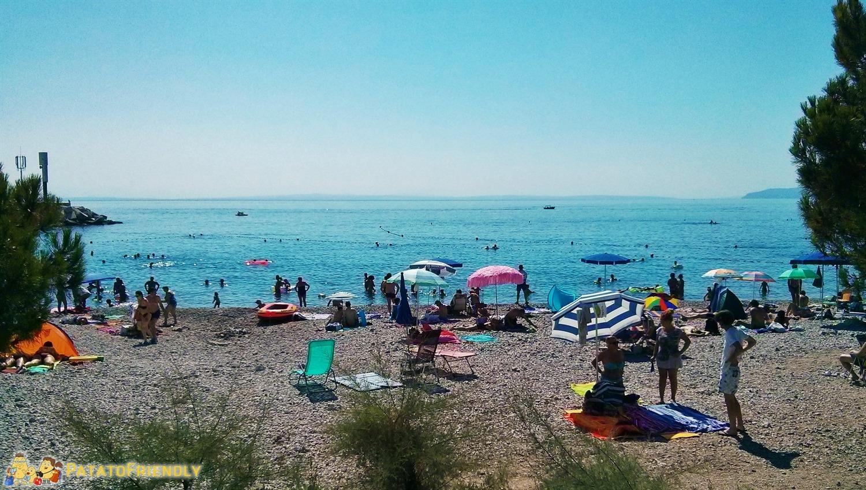 [cml_media_alt id='5434']Una piccola spiaggia di ghiaia nei pressi di Opatija[/cml_media_alt]