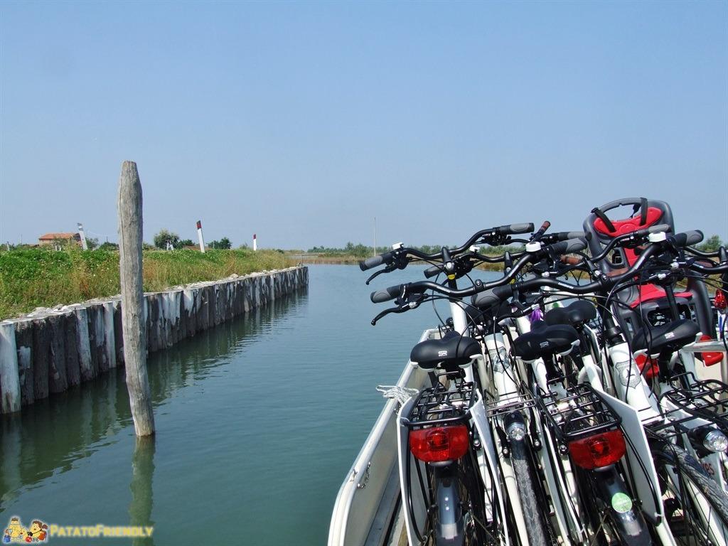 Vacanze in bicicletta - Bici e barca, il connubio perfetto