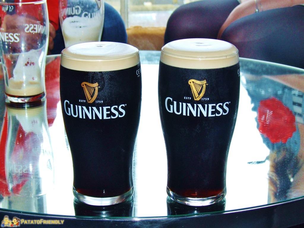 Le nostre due Perfect Pint splillate durante il Corsi di Master Brewer