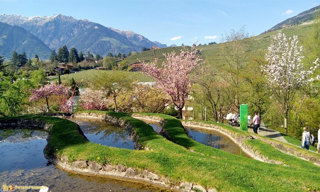 I giardini di castel trauttmansdorff i fiori di sissi - Giardini giapponesi ...