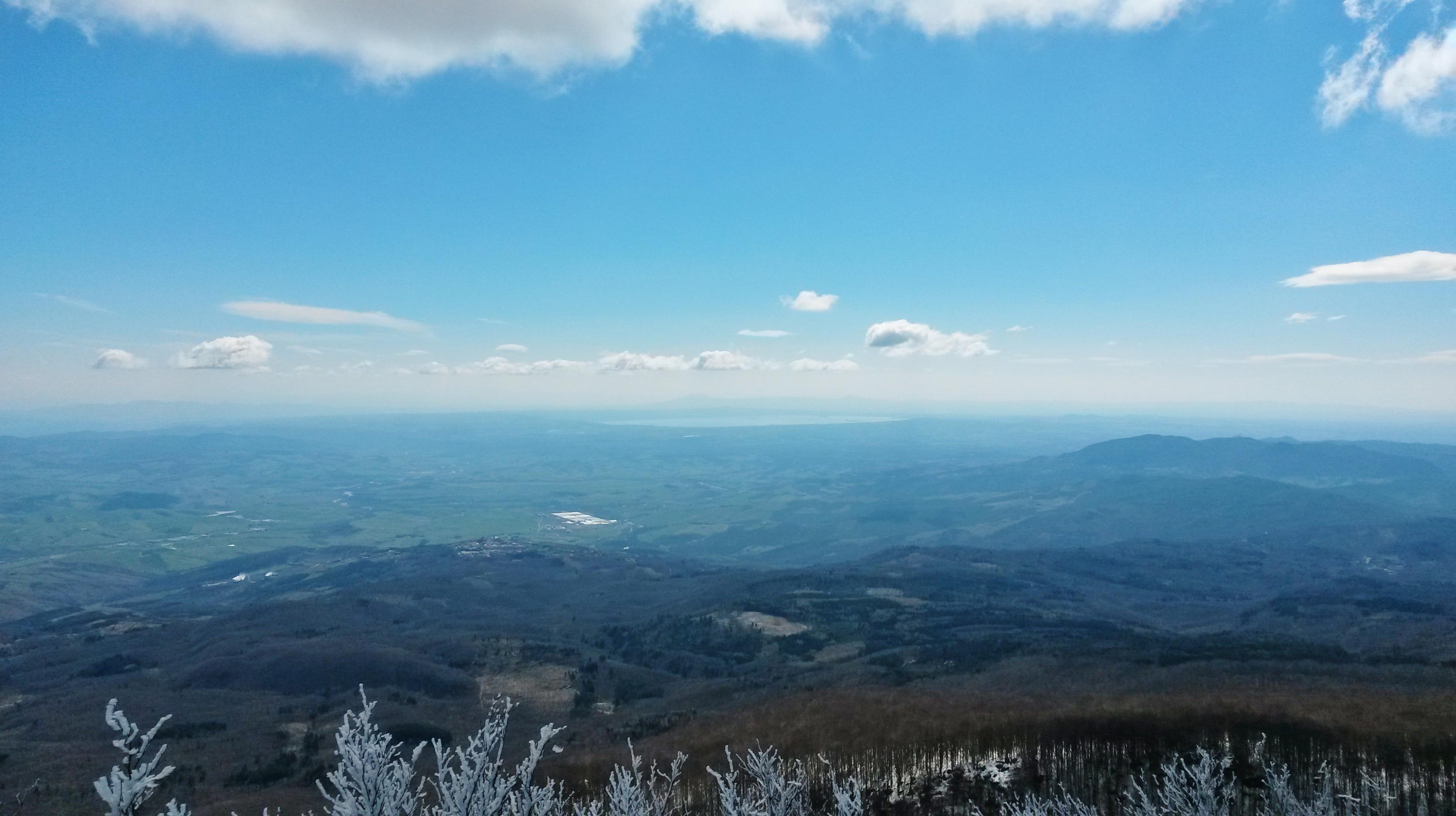 Monte Amiata - Panorama Croce