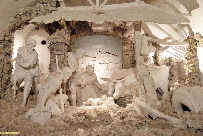 Urbino - La via dei Presepi - Il presepe dell'Oratorio di San Giuseppe