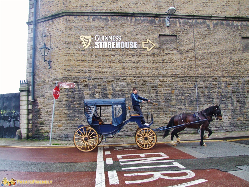Verso il Guinness Storehouse