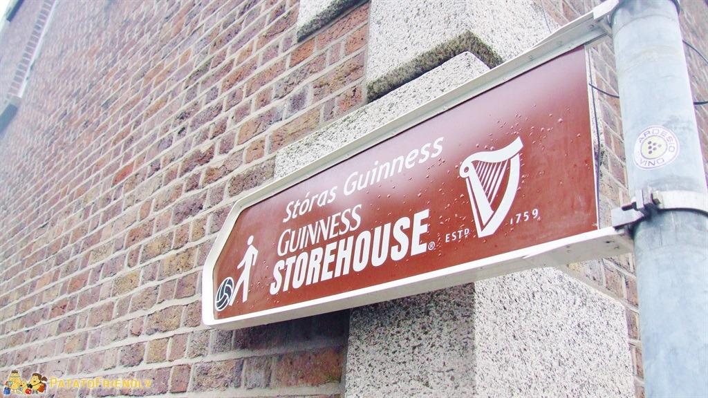 Verso il Guinness Store