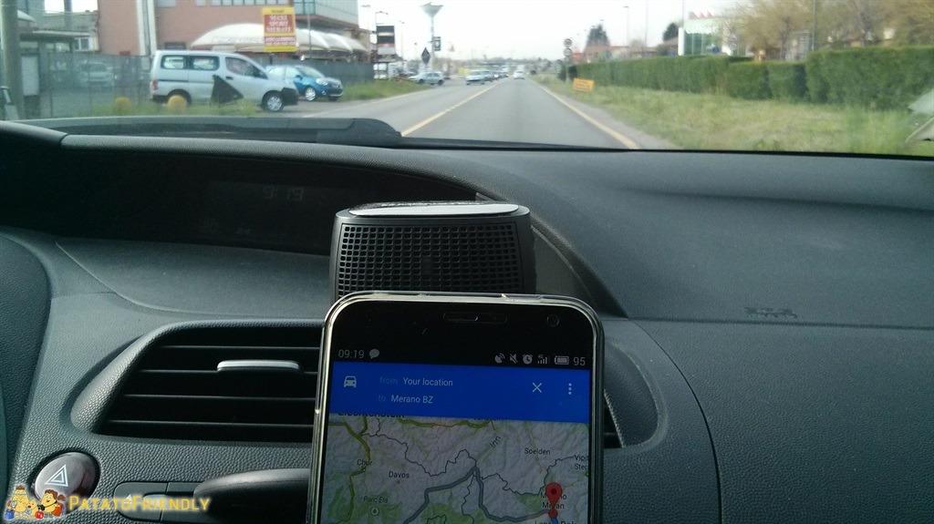 Viaggio in auto - Navgatore alla mano...pronti a partire