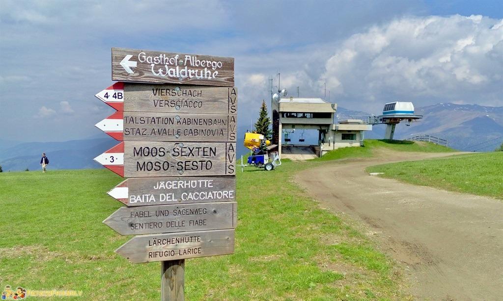 [cml_media_alt id='5886']Alta Val Pusteria - Il cartelli che indicano il Sentiero delle Fiabe[/cml_media_alt]