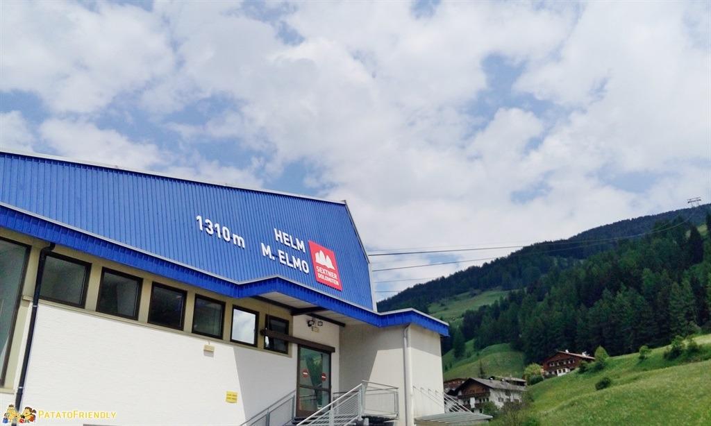 Alta Val Pusteria - La cabinovia che porta al Monte Elmo