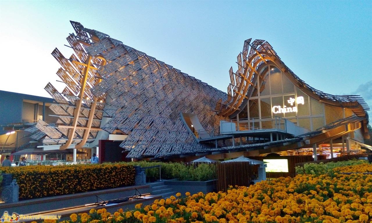 Expo Milano 2015 - Il padiglione cinese
