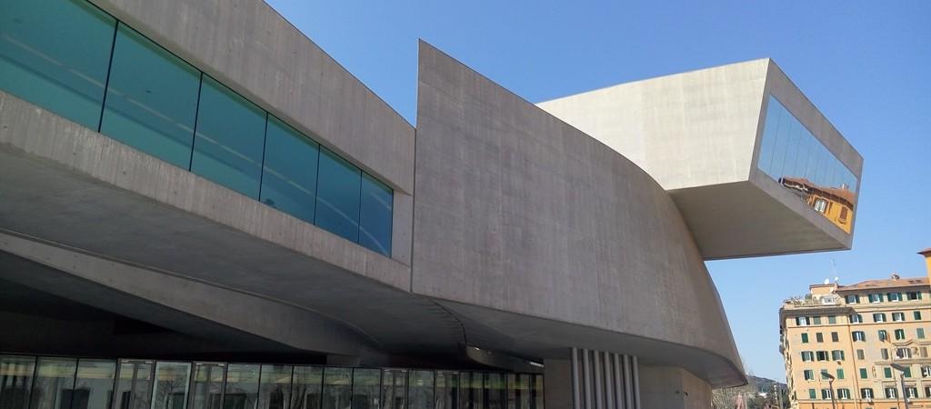 Il MAXXI di Roma - Il profilo avvniristico del Museo