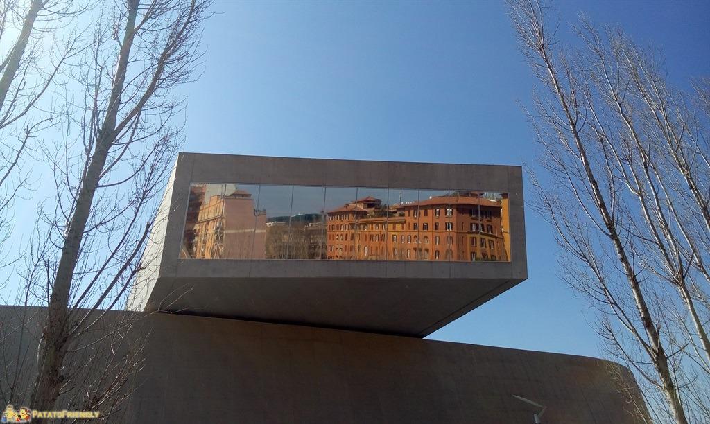 Il MAXXI di Roma - Il riflesso di Roma nel MAXXI