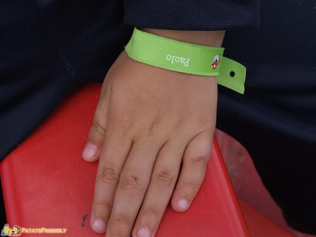 Il braccialetto identificativo