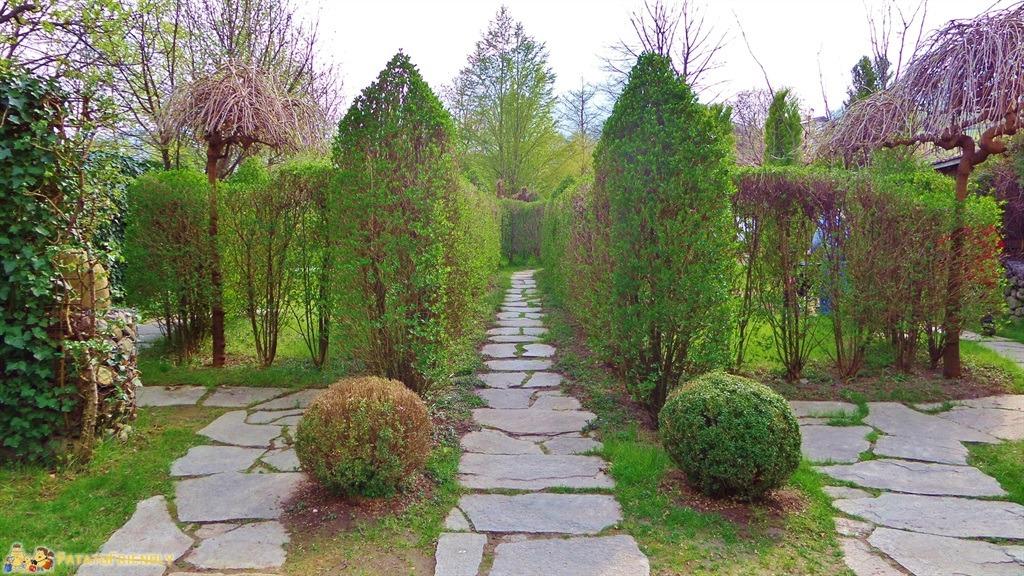 Cosa vedere a merano e dintorni il giardino labirinto di for Giardino labirinto
