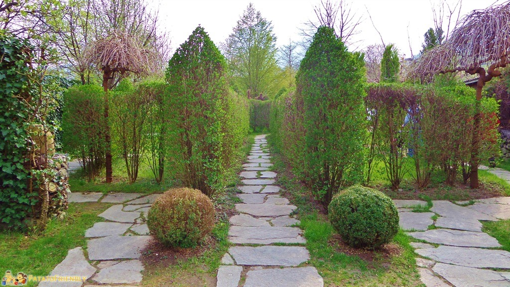 il Giardino Labirinto di Cermes , L\u0027ingresso al primo labirinto