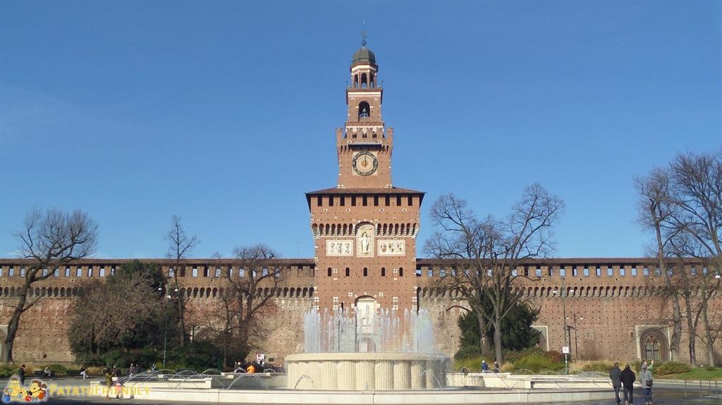 Milano - Il Castello Sforzesco