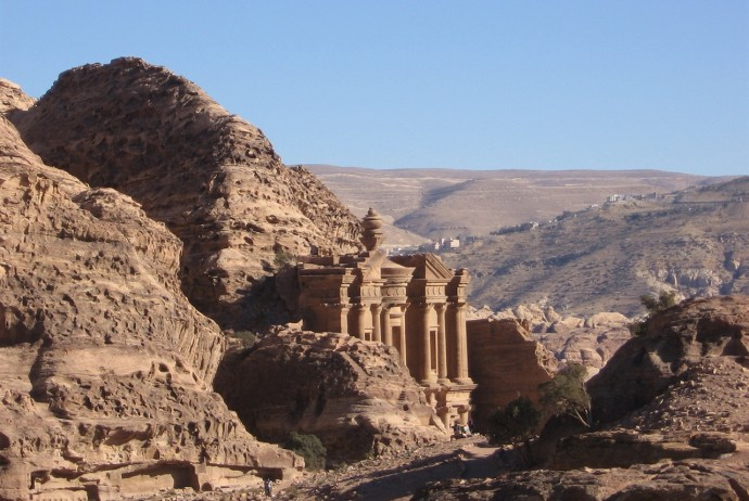 Travel Blogger a Petra