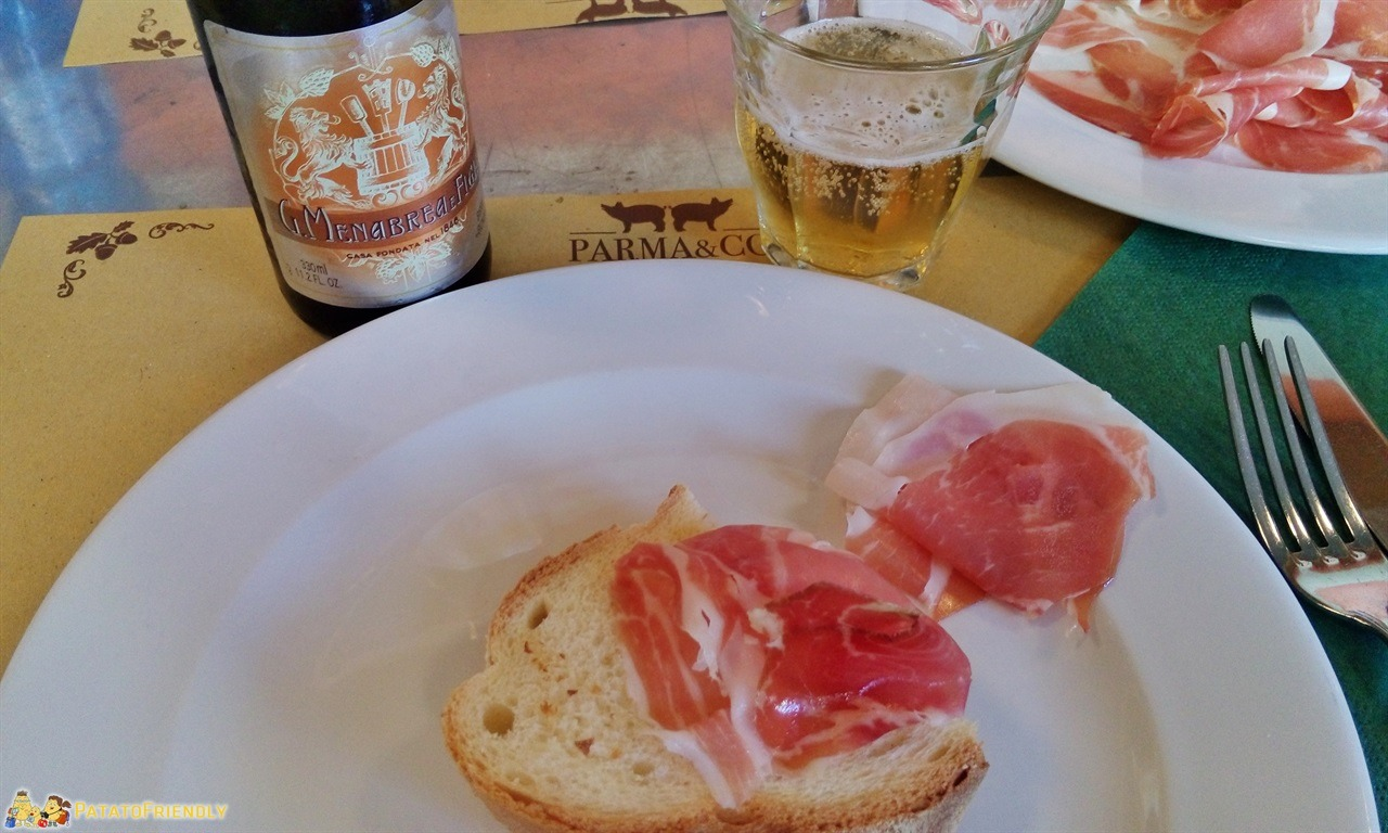 Tour di Milano - Pane, culatello e birra da Parma e Co