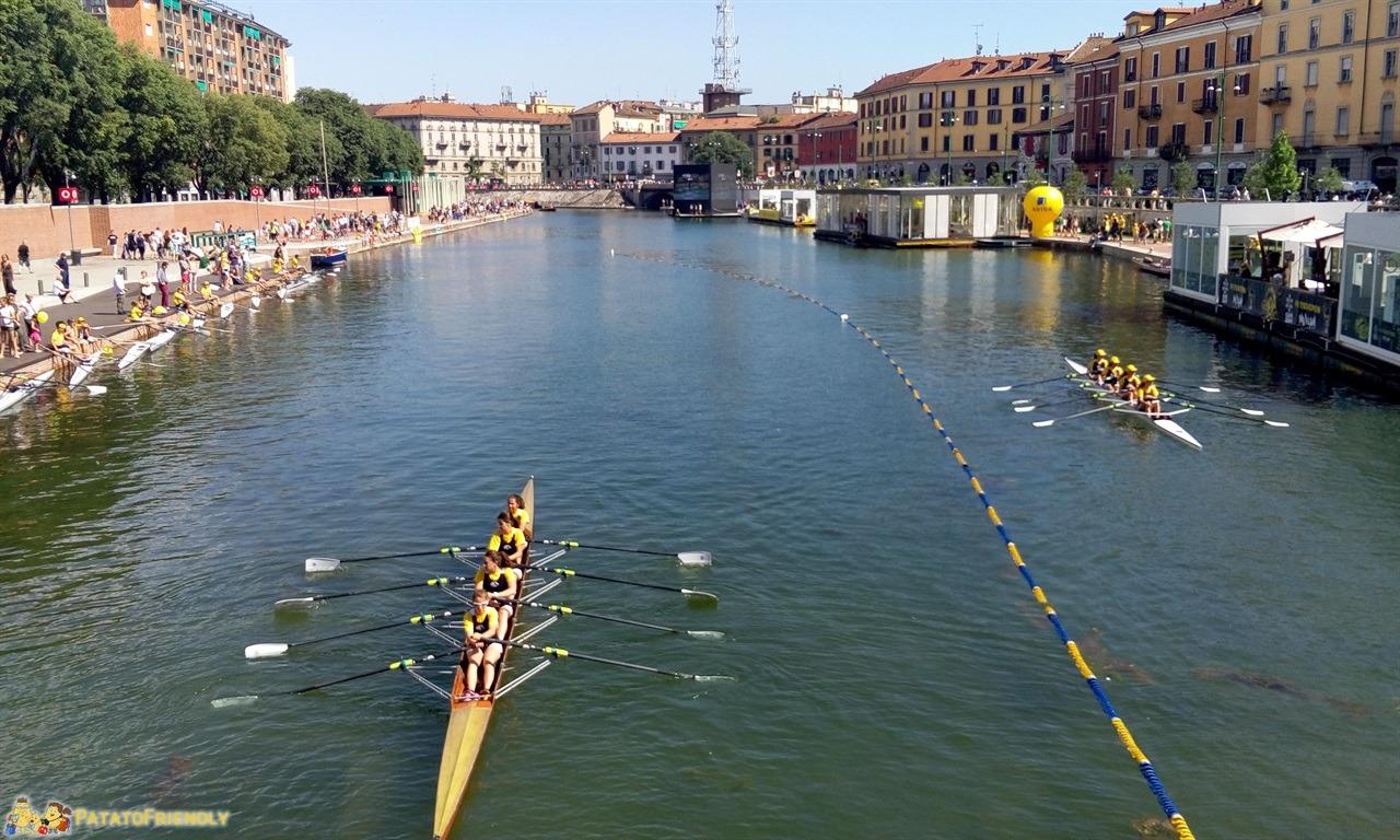 I navigli di Milano - La gara dei canottieri