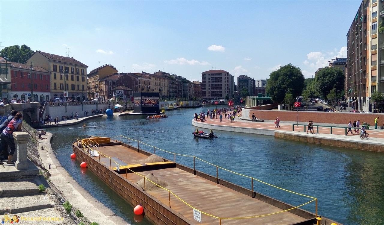 I navigli di Milano - La grande Darsena