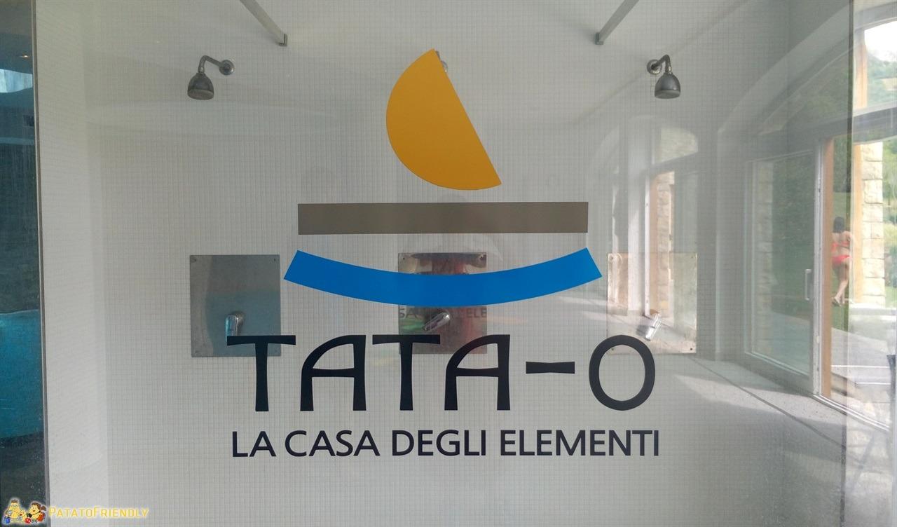 Spa per bambini in Lombardia: l'ingresso della Tata O Family Spa