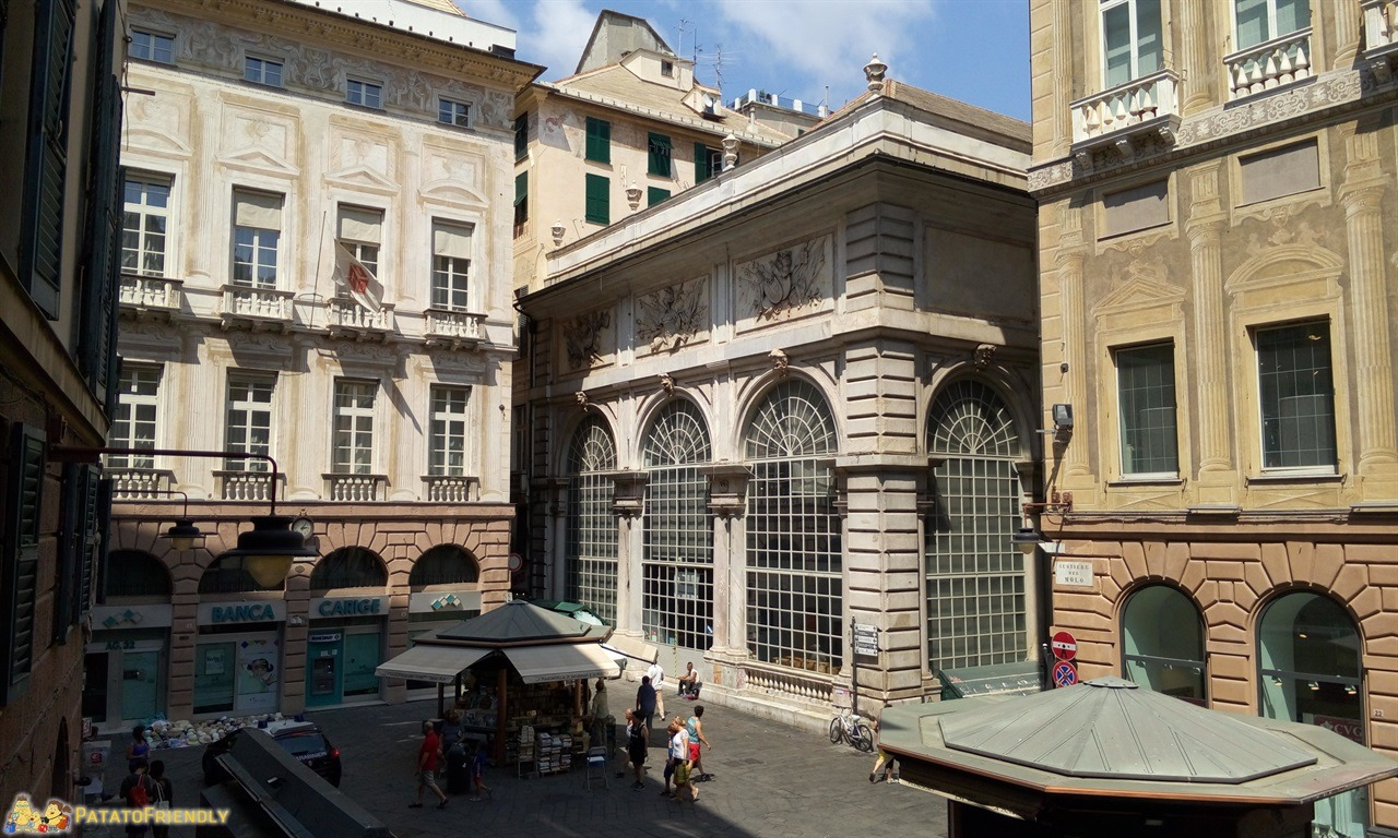 Visitare Genova - La Loggia dei Mercanti