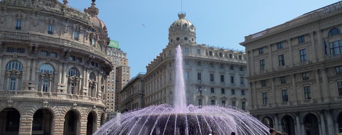 Visitare Genova - Piazza De Ferrari