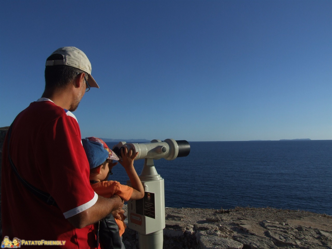 In Albania con i bambini - Ammirando l'infinito dal Castello di Porto Palermo
