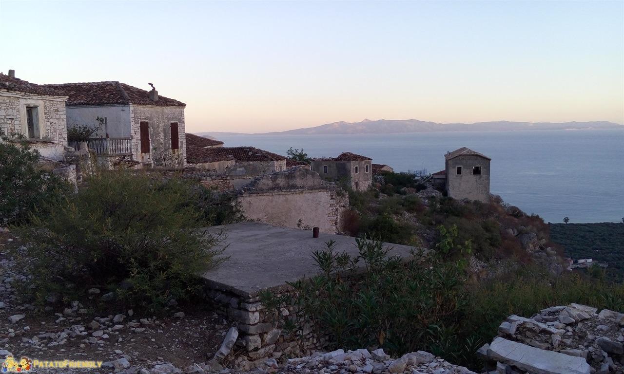 La Riviera Albanese - Il villaggio di Qeparo