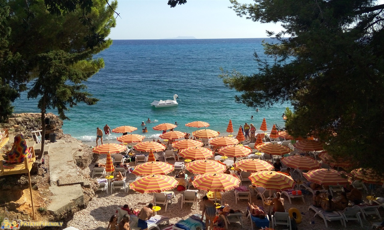 La Riviera Albanese - Una delle belle spiagge di Dhermi