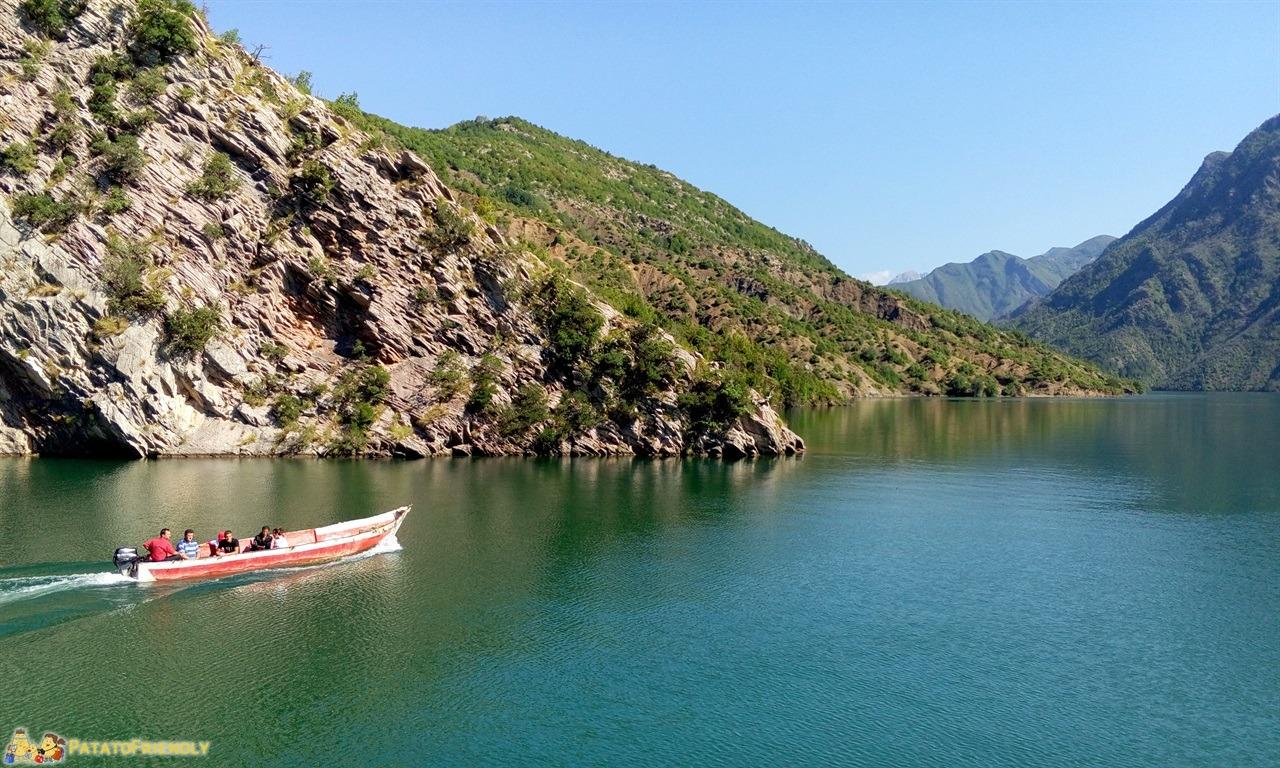 Lago Koman - Panorama