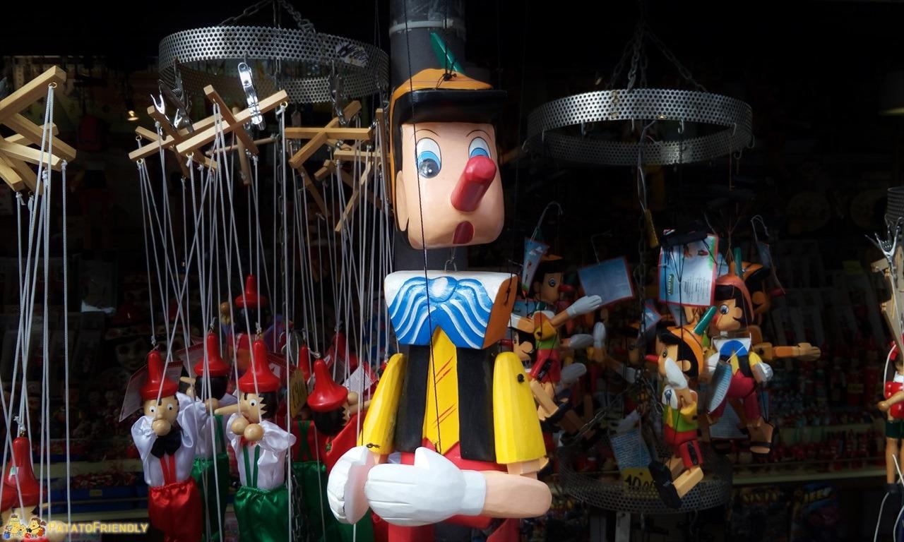 Parco di Pinocchio - Il mitico burattino