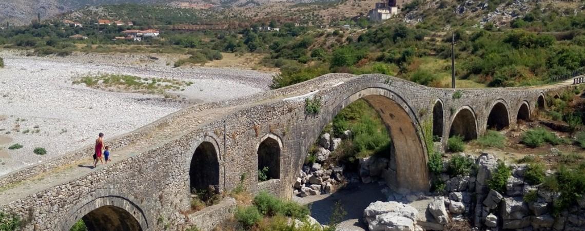 Viaggio in Albania - Il ponte Romano nei pressi di Skoder