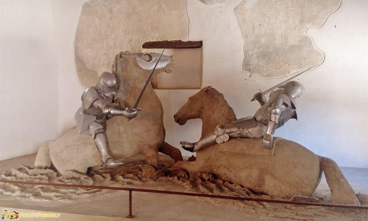 [cml_media_alt id='6347']Castel Beseno - Scene di combattimento ricostruite nelle sale del castello[/cml_media_alt]
