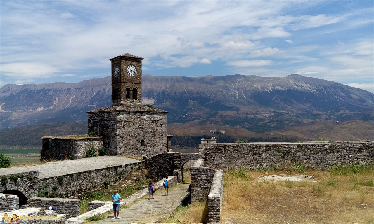 Gjirokastra - Panorama dal Castello