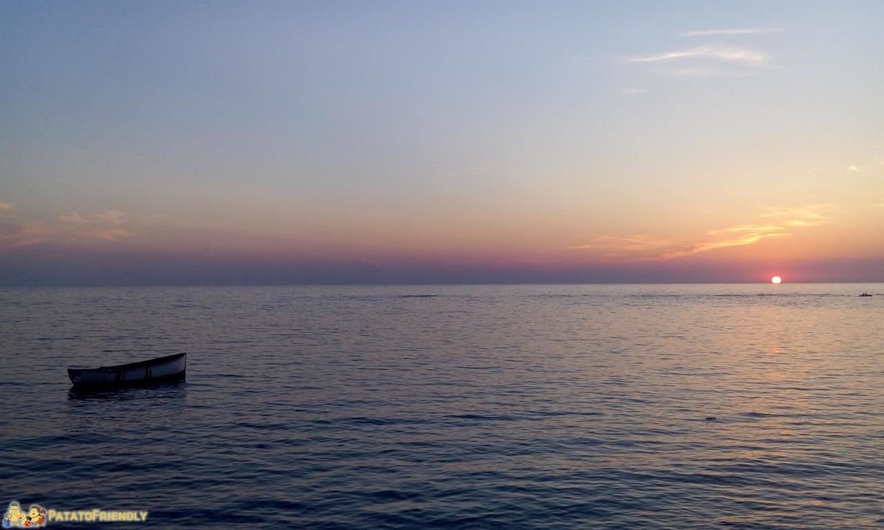 Durazzo - Il tramonto