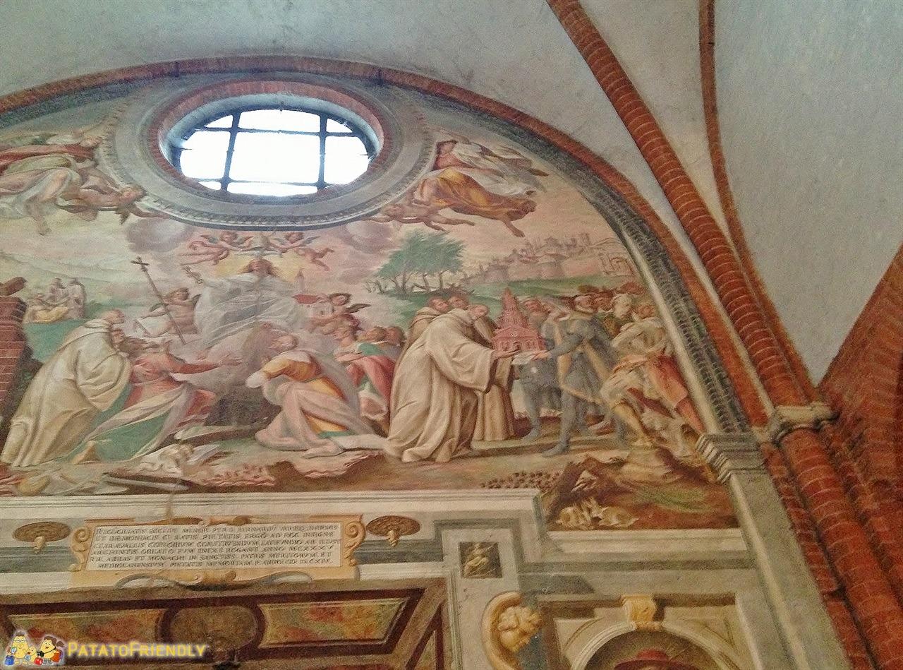 [cml_media_alt id='6062']L'abbazia di Chiaravalle - Gli affreschi[/cml_media_alt]