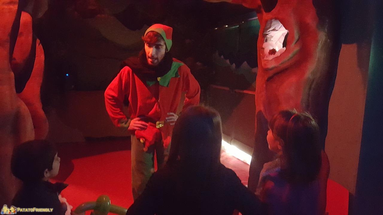 Casa di Babbo Natale di Montecatini - Ascoltando l'Elfo
