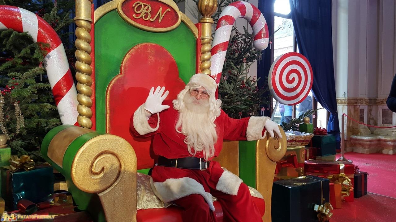 Andare Da Babbo Natale.La Citta Del Natale La Casa Di Babbo Natale E Tutto Il