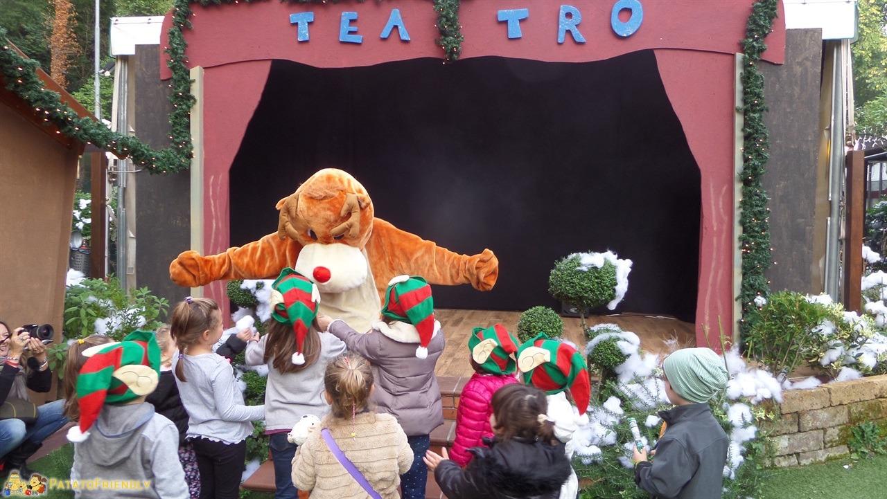 Casa di Babbo Natale di Montecatini - Lo spettacolo con Rudolph