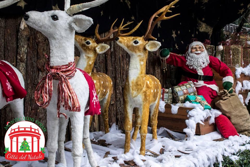 Citta Del Natale Montecatini.La Citta Del Natale A Montecatini Arriva Natale