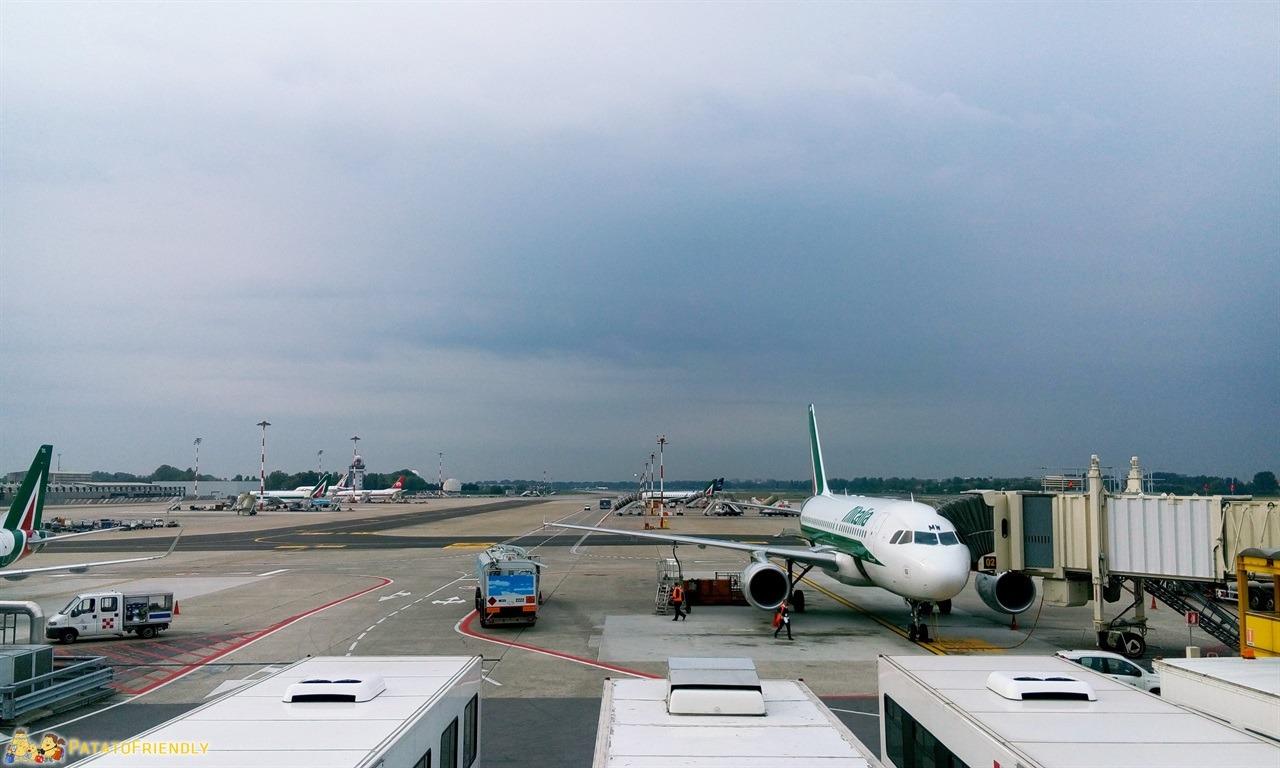 Linate - L'aeroporto milanese