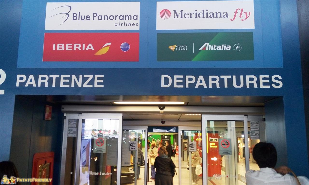 Cosa fare in caso di volo cancellato Linate - Quando si varcano le soglie dell'aeroporto