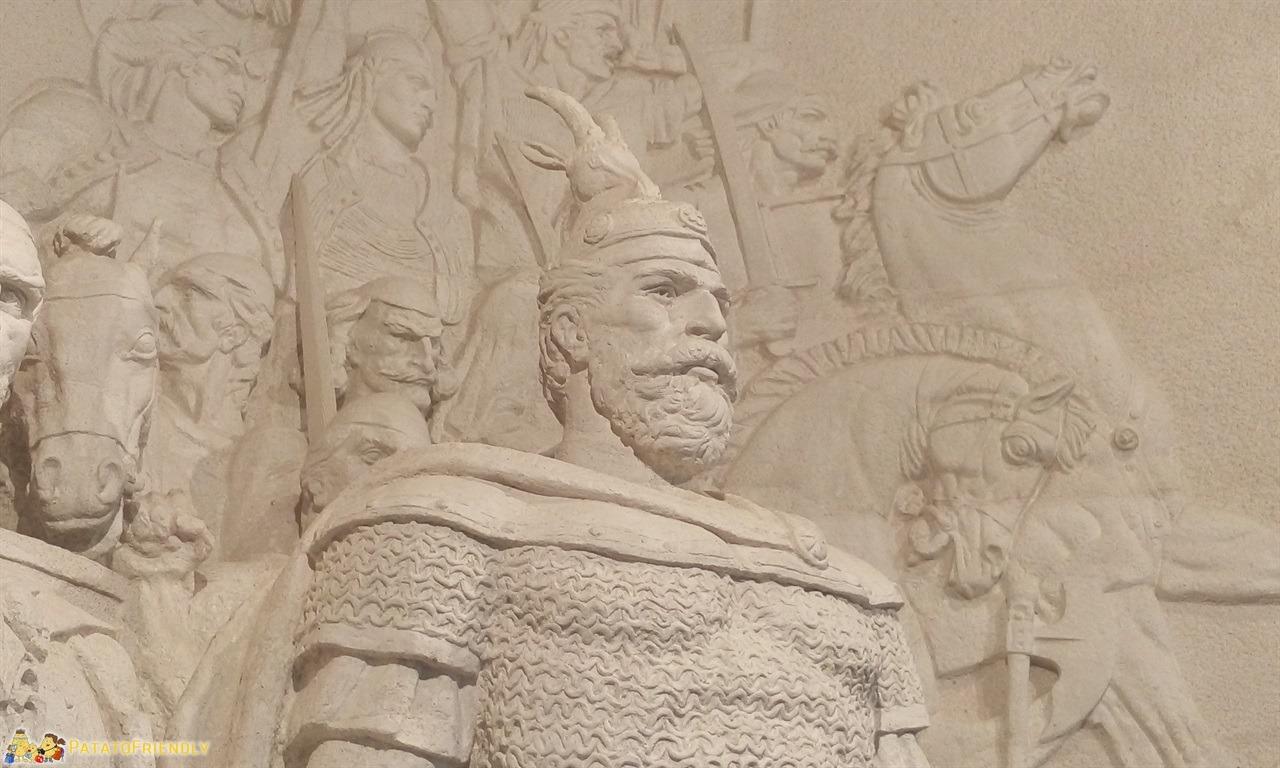 Scutari - L'eroe albanese Skanderbeg