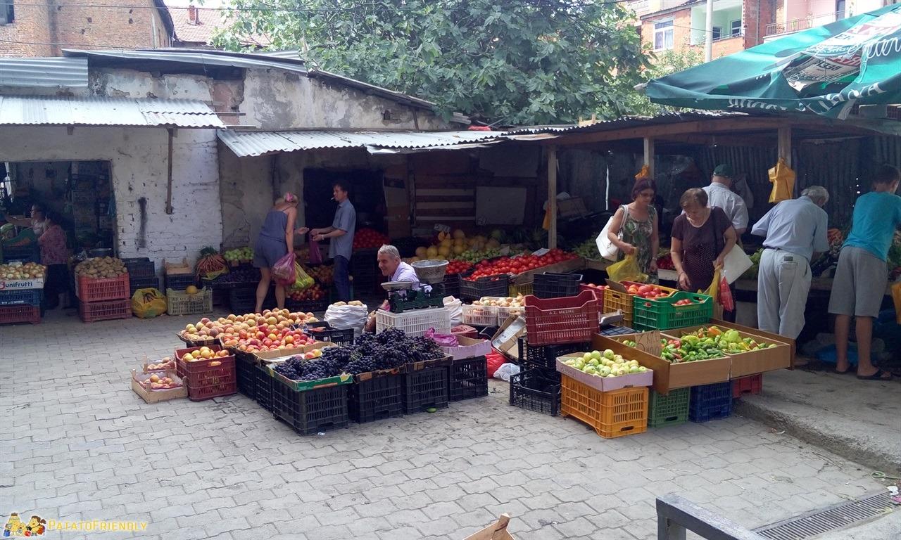 Visitare Tirana - Il mercato ortofrutticolo