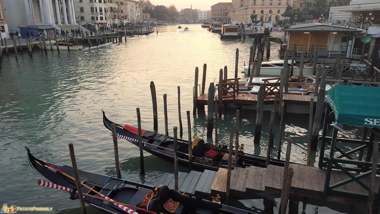 Cosa vedere a Venezia in un giorno a piedi - le gondole veneziane