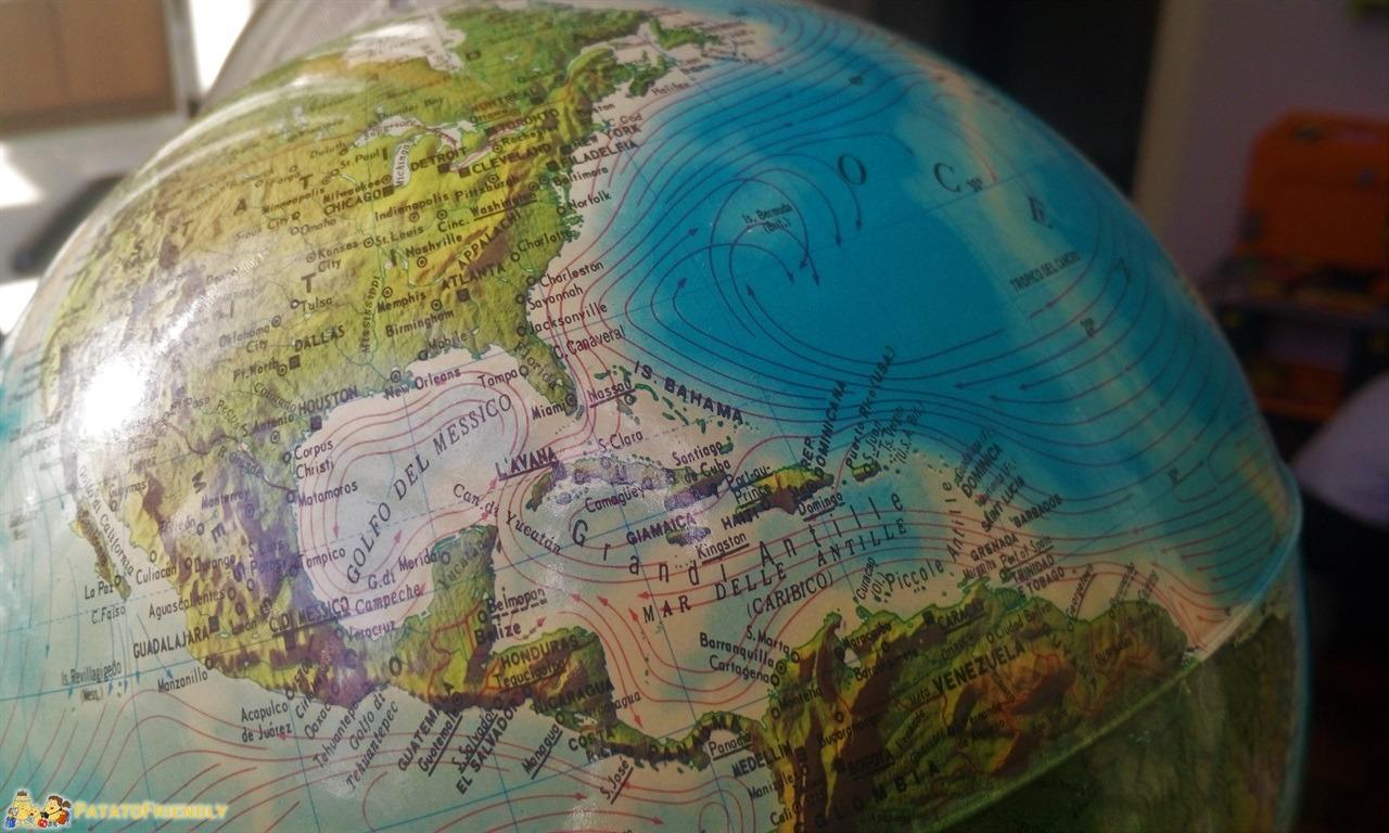 Regali per Natale - Un Mappamondo per sognare nuove destinazioni